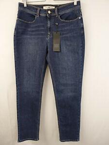 RIANI cigarette Designer Jeans Gr.46 Hose 5 Pocket Pants Blau