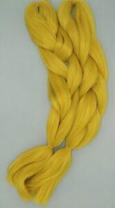 Braids blond (honigblond) - einfarbiges synthetisches Flechthaar / Braids 120/60