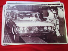 1960 FORD EDSEL ON ASSEMBLY LINE  11 X 17  PHOTO /  PICTURE