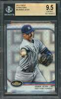 Derek Jeter Card 2012 Finest X-Fractors #5 New York Yankees BGS 9.5