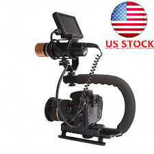 HOT C Shape Bracket Video Handheld Stabilizer Grip for DSLR SLR Camera US Stock
