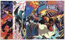 Batman: Sword of Azrael #1 - 4  Complete Set  avg. NM+ 9.6 white pages  DC  1992
