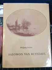 Salomon Van Ruysdael By Wolfgang Stevhow 1975 Rare Art Collectible