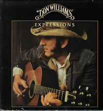"DON WILLIAMS Expressions MCA-3192 Vinyl 12"" LP-33 Country Album VG+ Stereo 1980"