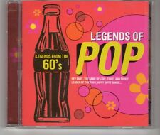 (HH458) Legends of Pop from the 60s, 16 tracks various artists - 2004 CD