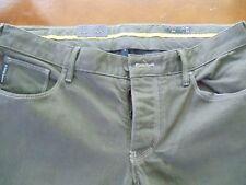 ARMANI JEANS J28 Slim Fit Gray Mens Jeans 36 x 34