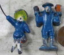 Vintage Miniature Cast Lead Chinese