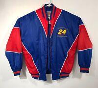 Vintage 1995 Nascar Winston Cup Champion Jeff Gordon 24 Nutmeg Adult Size Medium