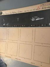 JOHNNY HALLYDAY : PLANCHE CONTACT PHOTOS de 1965