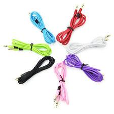 3.5mm Stereo Audio AUX Klinke Kabel Stecker für MP3 Auto Laptop Kopfhörer Neu
