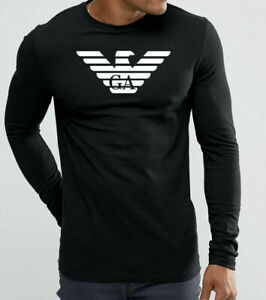 Emporio Armani großes Logo shcwarz T shirt Größe M*L*XL