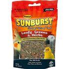 Higgins Sunburst LEAFY GREENS & HERBS Natural Bird Treat 1 oz MADE IN USA