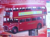 ISSUE #  96 LONDON BUS CLASSIC ROUTEMASTER RED BUILD YOUR OWN HACHETTE 1:12