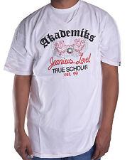 75efbc053180df Akademiks Men s Edukator V Neck Tee Shirt 2xl White