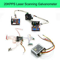 20KPPS 30KPPS Galvo Scanner ILDA Closed Loop For Light Show Stage Lighting Laser
