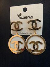 C Logo Earring