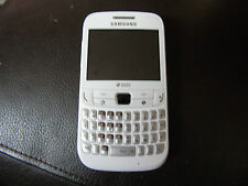 Samsung Chat 357 - White (Unlocked) Dual SIM Mobile Phone