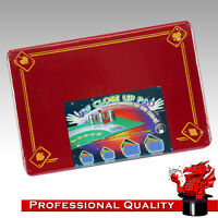 VDF Close Up Pad / Mat / Surface  - Red with Aces - Magic - Professional Size