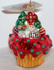 Radko CHRISTMAS CAKE - STORY BOOK KIDS Christmas Ornament 00-478-S