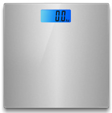 Electronic Digital Backlight Glass Body Bathroom Scale 180KG scales Gym Weight