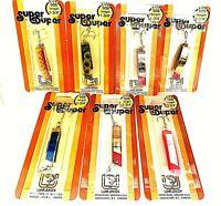 """Luhr-Jensen Vintage Super Duper 1-3/4"""" Choose Color ( One Package )"""