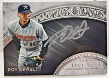 Roy Oswalt 2017 Topps Five Star SILVER SIGNATURES on-card Autograph Auto #'d/30