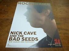 NICK CAVE AND THE BAD SEEDS - Publicité de magazine / Advert NOCTURAMA  !!!