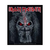 IRON MAIDEN official woven patch EDDIE CANDLEFINGER Aufnäher British Heavy Metal