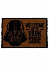 "Star Wars ""darth Vader Welcome to The Darkside"" Door Mat Brown 60x40x2 Cm"