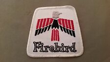 vintage firebird embroidered patch
