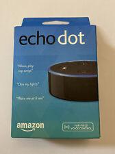 Echo Dot Amazon New In Box 2nd Generation Black Smart Assist