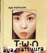 Aya Matsuura - T.W.O - Japan BOX CD - J-POP - 12Tracks TWO