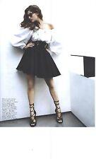 PUBLICITE ADVERTISING 2001  ALEXANDER MC QUEEN haute couture LAETITIA CASTA