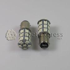 2 x Bombillas 27 LED SMD 5050 ROJO BA15D P21/5W Coche Freno y Posicion Bombilla