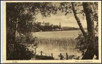 1915 Stempel PLÖN a/ AK gelaufen nach Eimsbüttel, alte Postkarte
