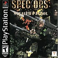 SPEC OPS STEALTH PATROL PlayStation PS1 Complete CIB VERY Fast Ship World!!!