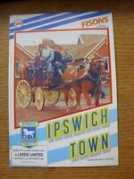 05/09/1987 Ipswich Town v Leeds United  (Light Fold)