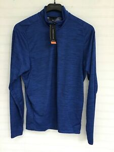 NWT MENS GALVIN GREEN STRETCH TECHNOLOGY 1/4 ZIP PULLOVER SIZE MEDIUM