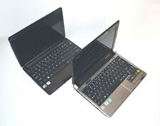 Bulk Lot x 2 ACER Aspire One Laptop NetBook Intel Atom 1GB Battery with issues