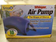 Tetra Whisper Air Pump  (Up to 10 Gallon Aquariums) new!