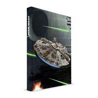 Libreta con luz y sonido Cuaderno de Escribir Diseño Halcón Milenario Star Wars