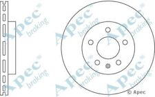 1x OE Quality Replacement Front Axle Apec Vented Brake Disc 5 Stud 296mm - Pair