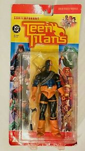 NEW DC DIRECT DEATHSTROKE Contemporary Teen Titans ACTION FIGURE 2005