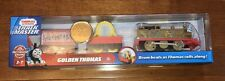 Fisher-Price Thomas and Friends Trackmaster 2020 Golden Thomas Train New