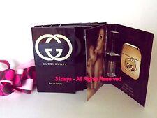 NEW 5 X Gucci Guilty Eau de Toilette Women Perfume Spray Sample 2 ml