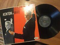 Stan Kenton & Orchestra: Kenton In Hi-Fi LP on CAPITOL Label..Upper VG CLEAN