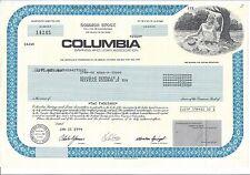 COLUMBIA SAVINGS AND LOAN ASSOCIATION.....1994 STOCK CERTIFICATE