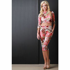 Mesh Unbranded Floral Jumpsuits, Rompers & Playsuits for Women