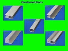 Doppelstegplatten  Alu - H / h / F / Eck und U-Profile eloxiert für 16mm Platten