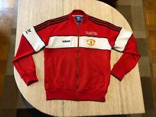 Rare Original Herren Adidas Jacke Gr M Manchester United Oldschool Vintage